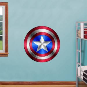 Captain America Shield Avengers Decal Removable Wall