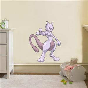 mewtwo pokemon decal removable wall sticker home decor art kids ebay. Black Bedroom Furniture Sets. Home Design Ideas