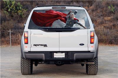 Thor Car Rear Window Decal Sticker Car Truck Suv Van