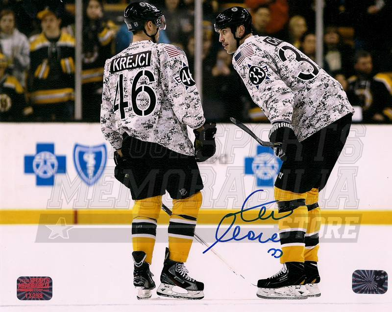 c20720a6f56 Image is loading Zdeno-Chara-Boston-Bruins-Signed -Veterans-Warmup-Camouflage-