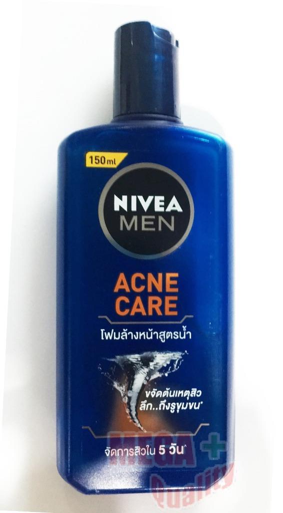 Nivea Men Acne Care Facial Liquid Foam Watery Formula Oil Control