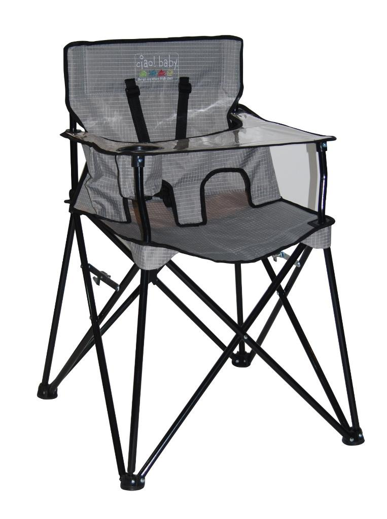 New Ciao Portable Travel High Chair Foldable Baby Gear