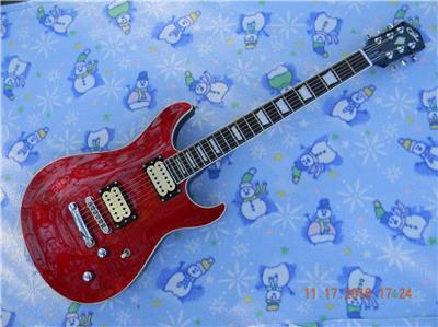 g l ascari gts electric guitar hot artec pickups coil split coffin case ebay. Black Bedroom Furniture Sets. Home Design Ideas