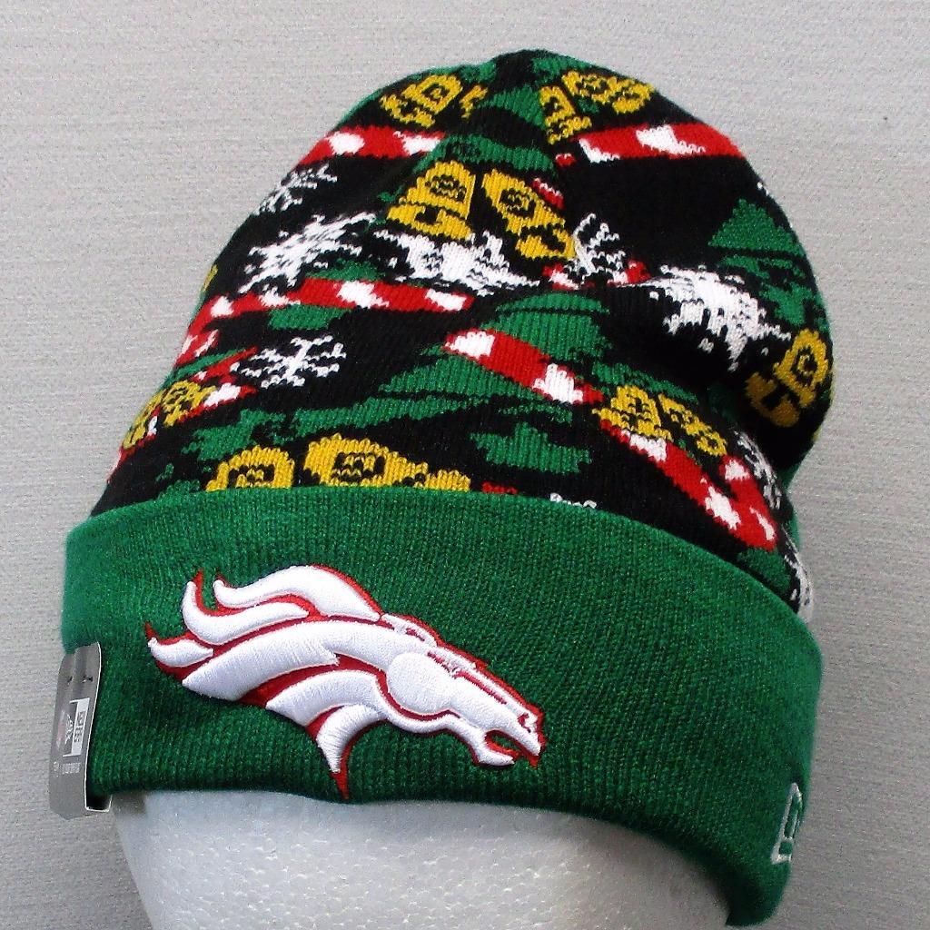 0666ffa35 Details about NWT New Era NFL Denver Broncos winter acrylic toque OSFA