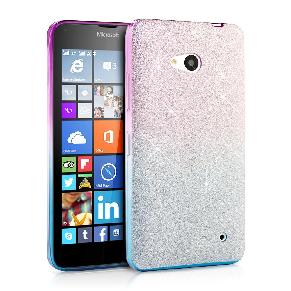 New Glitter Colorful Bling TPU Rubber Silicone Case Cover Microsoft Lumia 640 | eBay