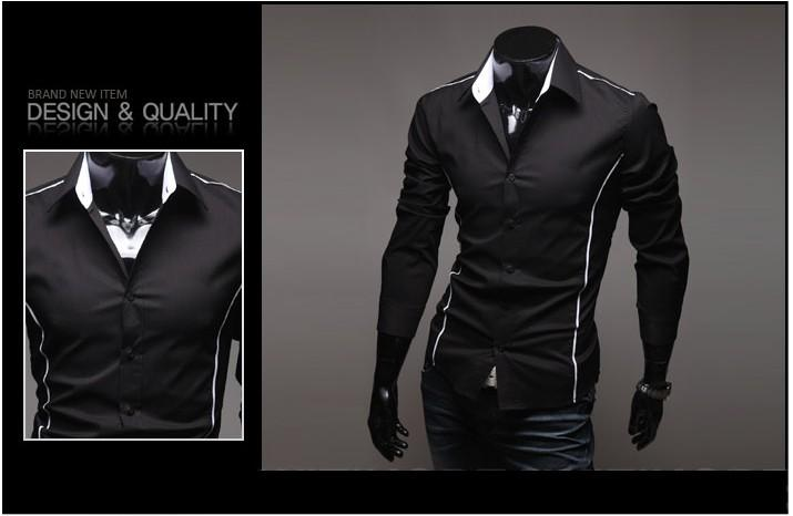 2013 Collection Mens Luxury Casual Formal Slim Fit Stylish Dress Shirt C5092