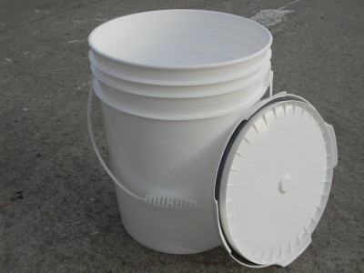 10 Clean Used Food Grade 5 Gallon Bucket Pail With Lid