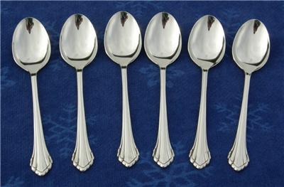Oneida Community Stainless Flatware Clarette 33pc Set Ebay