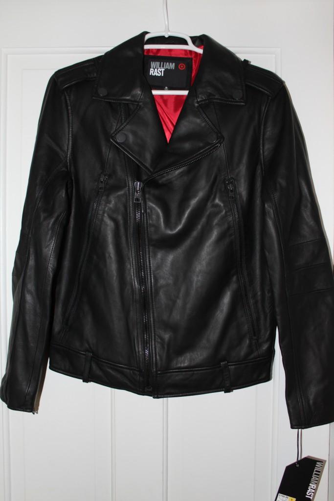 Target leather jacket