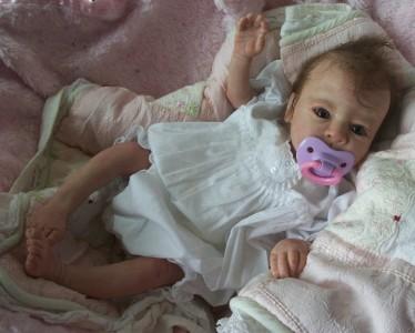 Clara By Toby Morgan Reborn Baby Girl Life Like Doll Fake