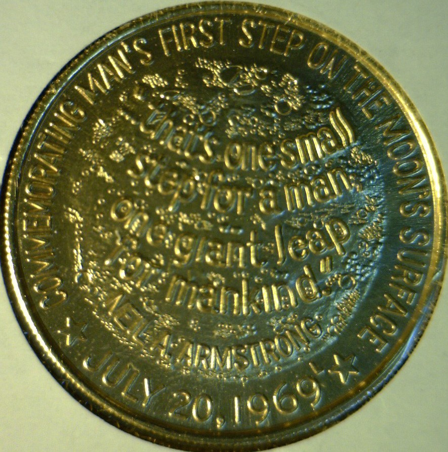 apollo xi commemorative token - photo #22