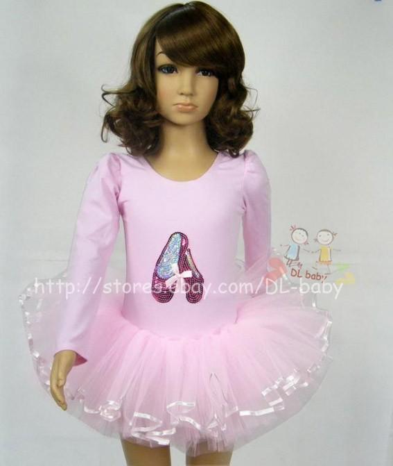 baby toddler Girl Leotard Ballet Tutu Costume Dress 3 8 yrs