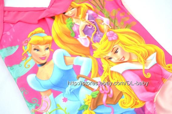 Girls Kids Princess Ariel Mermaid Swimsuit Tankini Bathing Swim Costume 1 6 Yrs