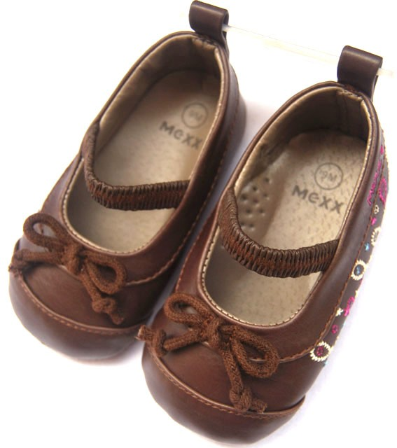 Toddler Girl Brown Mary Jane Shoes