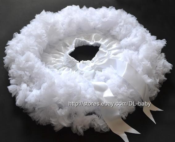 White Girls Kids Children Tutu Ballerina Ballet Dancer Skirt Costume 1 6 Y