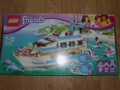 Lego Friends Dolphin Cruiser Playset 41015 Brand New and Boxed
