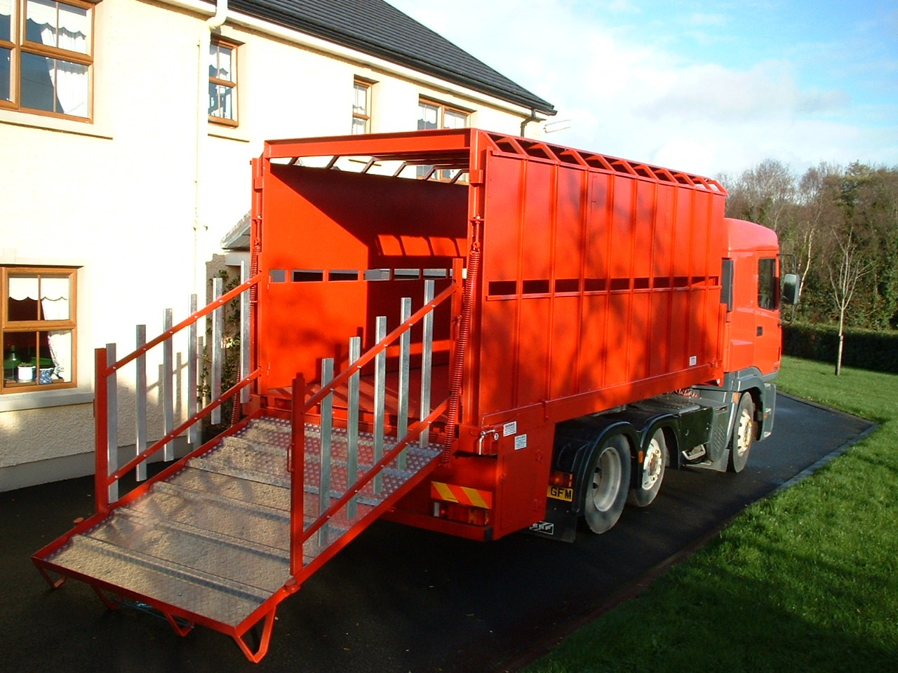 New Jak A Box Demountable Livestock Flatbed System
