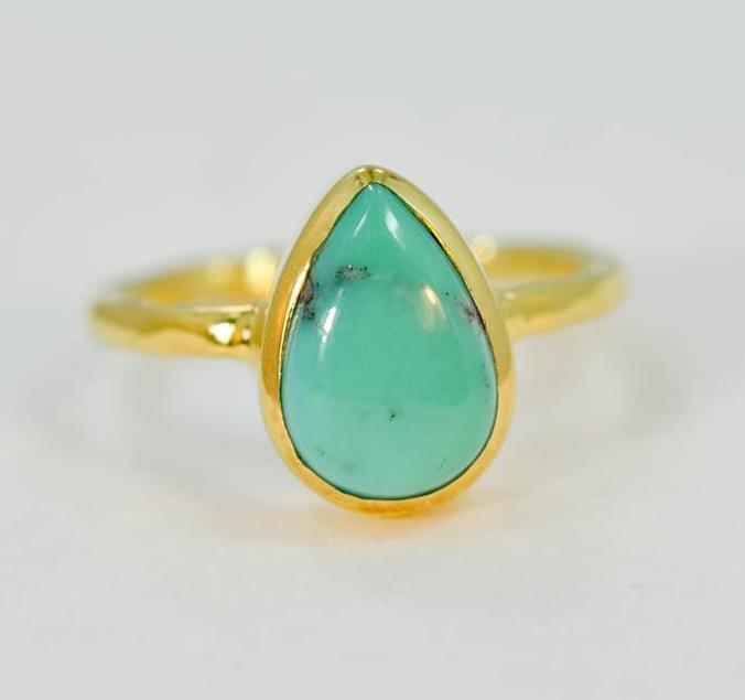 NATURAL-TURQUOISE-DECEMBER-BIRTHSTONE-18K-GOLD-PLATED-SILVER-LADIES-RING-MF502