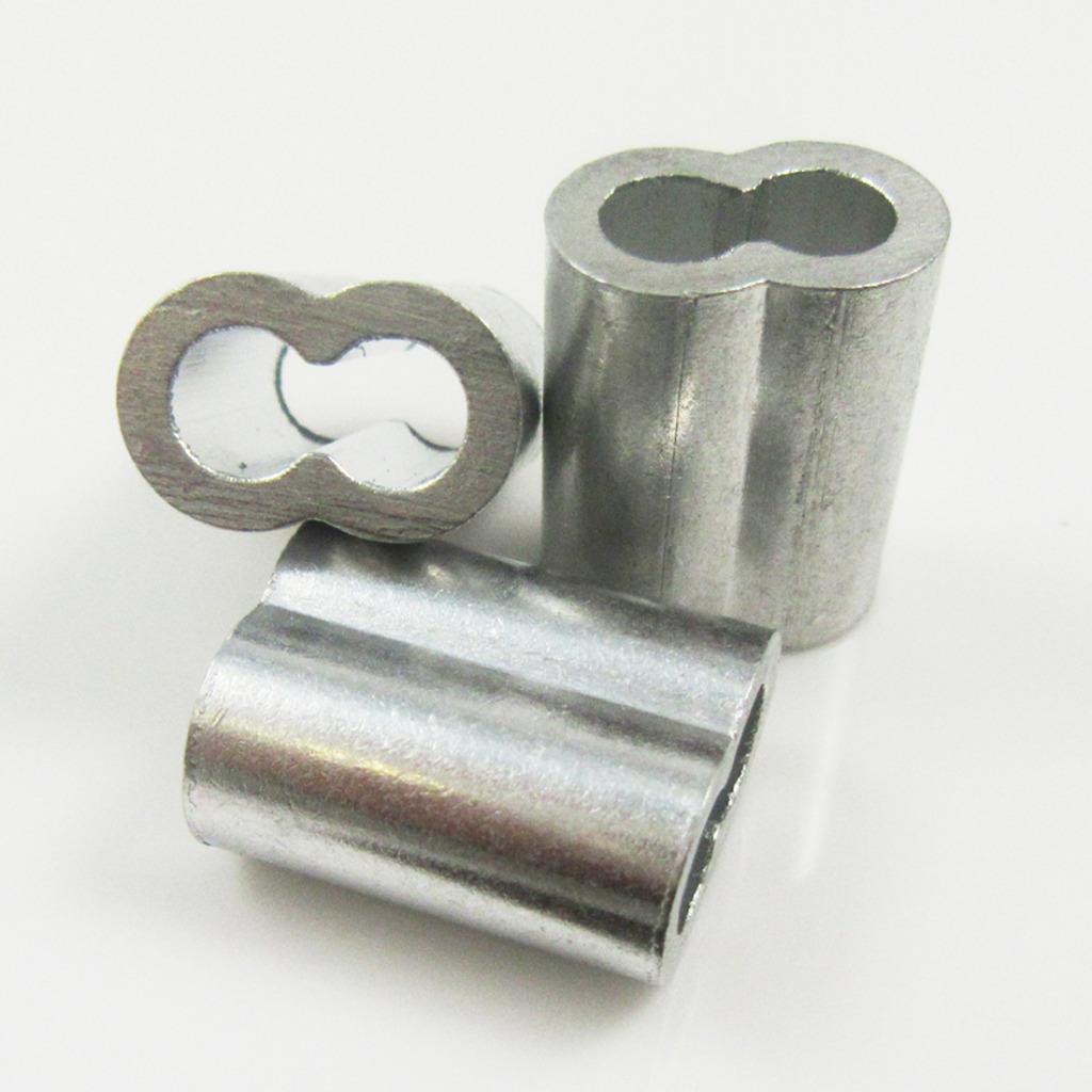 Aluminium crimps mm sizes ferrules for steel