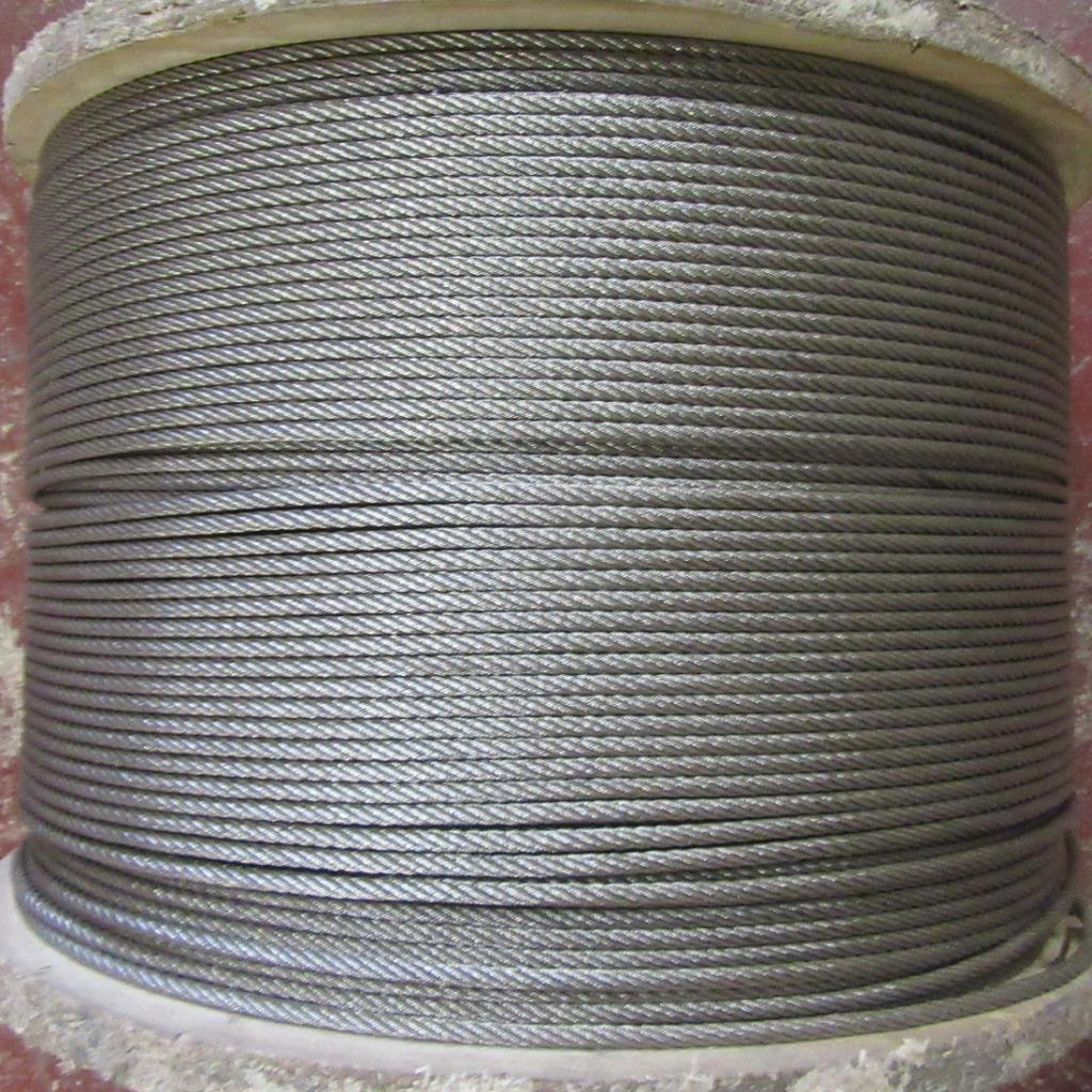 STAINLESS STEEL WIRE CABLE 1mm, 2mm, 3mm, 4mm & 5mm HEAVY DUTY ROPE ...