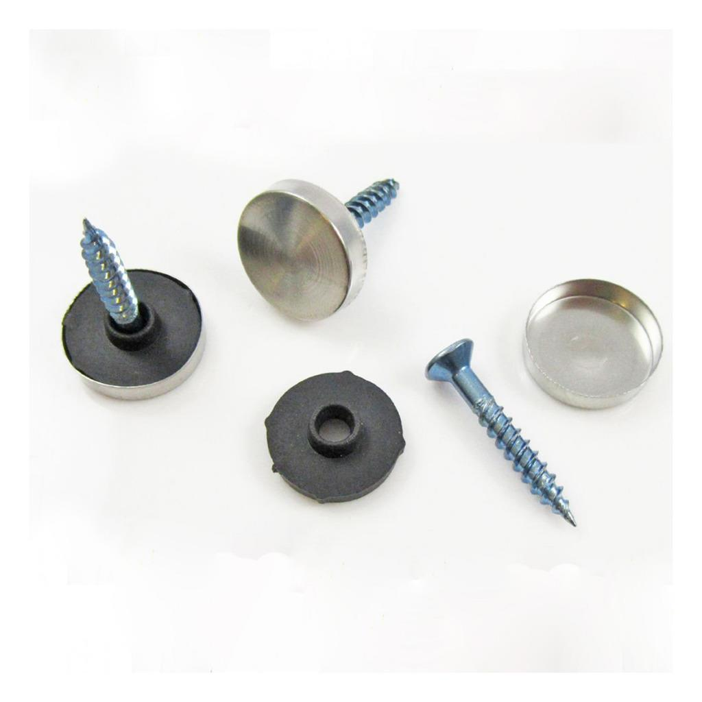 Stainless Steel Decorative 5 Sizes Screw Caps Washers