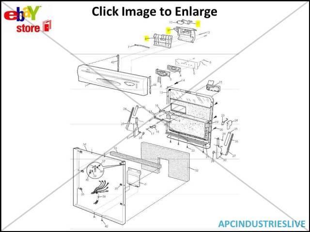 dishlex dishwasher global door handle bracket assy dx300 dx400 rh ebay com au dishlex global 450 user manual dishlex global 450 repair manual