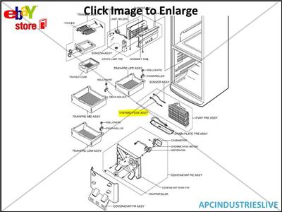 Refrigerator Wiring Diagram Additionally Goodman Thermostat