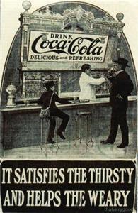 COCA COLA AD Vintage Refrigerator Fridge MAGNET #12