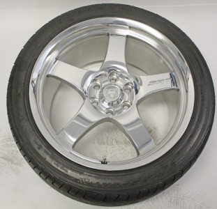 18 19 Dodge Viper SRT Wheels Tires Factory Polished