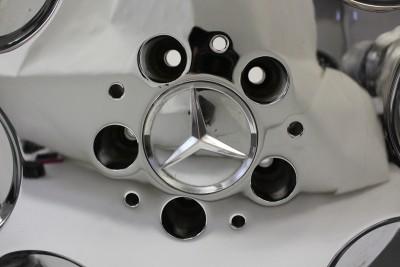 16 Mercedes Benz Chrome Wheel Rim Factory 65151 E300 E500 SL500 SL600