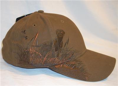 Dri Duck Wildlife Series Moose Gray Brown 6 Panel Baseball Hat Cap Adjustable