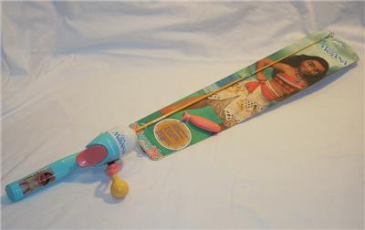 disney moana kids fishing pole rod reel combo shakespeare