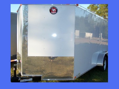 TANDEM ROAD DOG STANDARD DUTY ENCLOSED CARGO MOTORCYCLE TRAILER