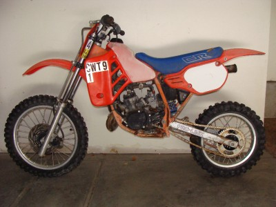 1986 honda cr 80 seat cr80 ebay. Black Bedroom Furniture Sets. Home Design Ideas
