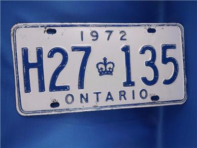 Man Cave Stores In Ontario : Ontario license plate h vintage car truck shop garage