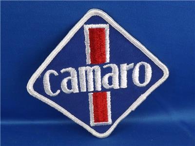Chevrolet Camaro Vintage Patch Badge Emblem Logo Muscle Car Race