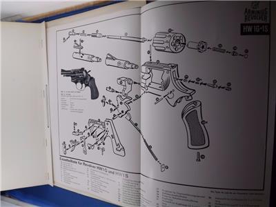 Details about GUN PARTS LIST BOOK FOLDER ARMINIUS REVOLVER LUFTPISTOLE  RIFLES PRINTED GERMAN