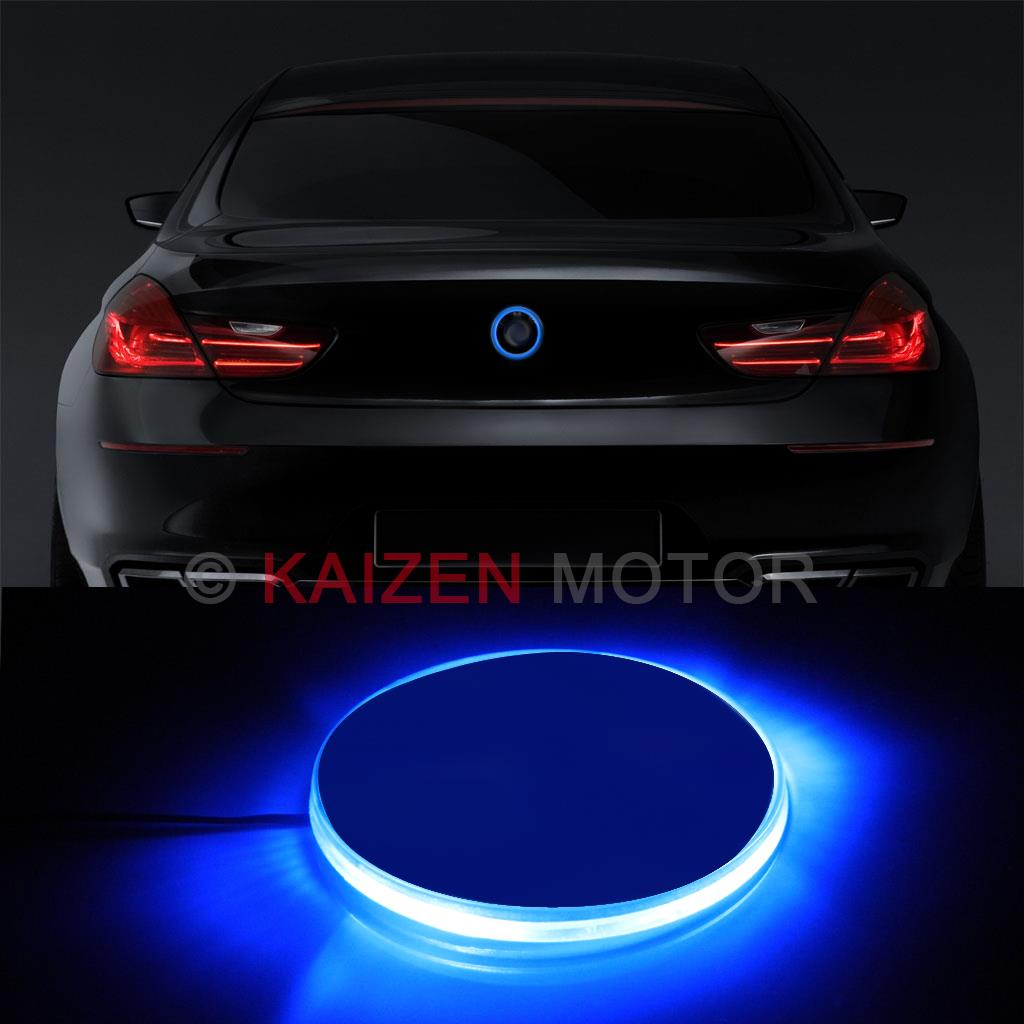 Bmw Z4 Dash Lights: 1PC 82mm Ultra Blue Emblem LED Background Light For BMW 1