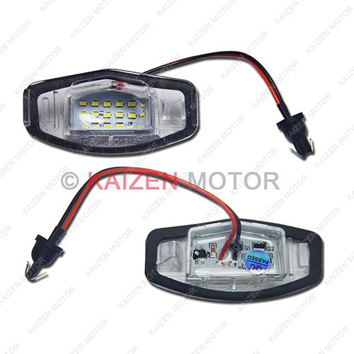 White LED License Plate Light Lamps Exact Fit Acura TL TSX