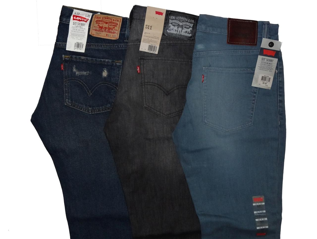 Levi's Men's 511 Skinny Fit Jeans 3 Colors 33 x 32 | eBay