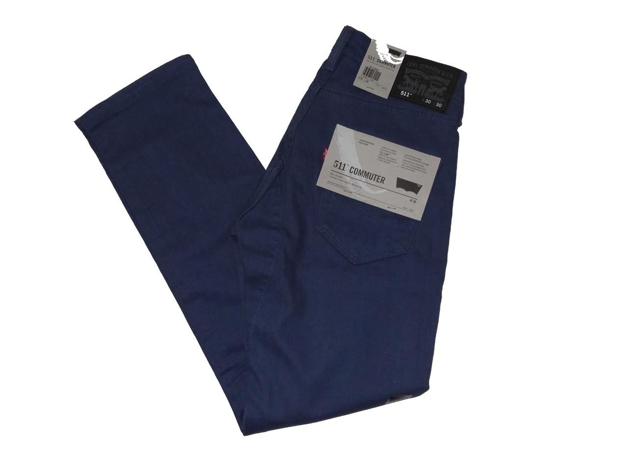 Levi's Men's 511 Skinny Commuter Pants With 4 Colors NWT 29 30 31 32 33 34 36 38