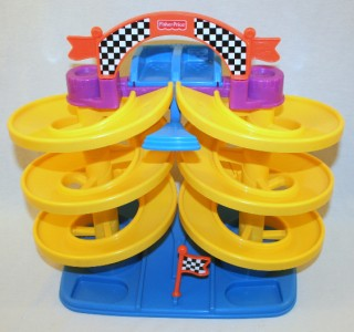 Fisher Price Spiral Speedway Replacement Cars