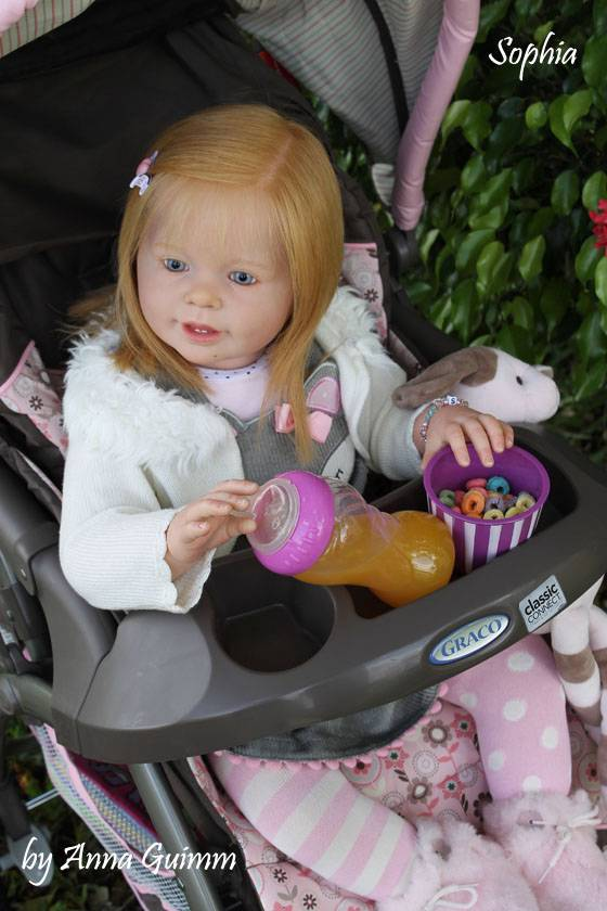 So Real Reborn Baby Toddler Girl Doll Katie Marie 28 Quot Ann
