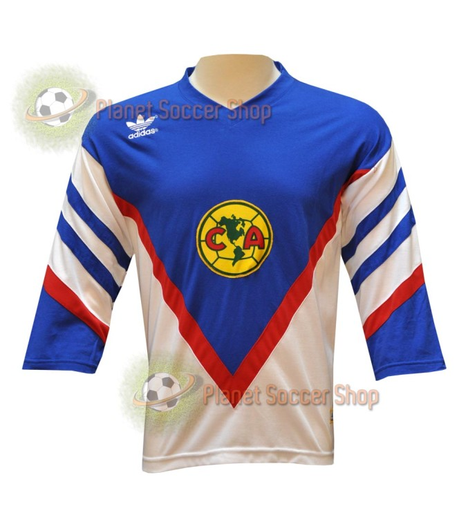 d48a611ef20 This is an Official Retro reproduction by Adidas of Club Aguilas del ...