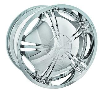22 Shooz 002 Chrome Wheels Rims Tires Package 6x135 6x139 7