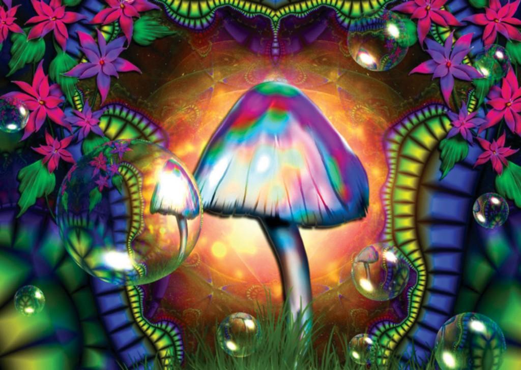 magic mushroom art - photo #7