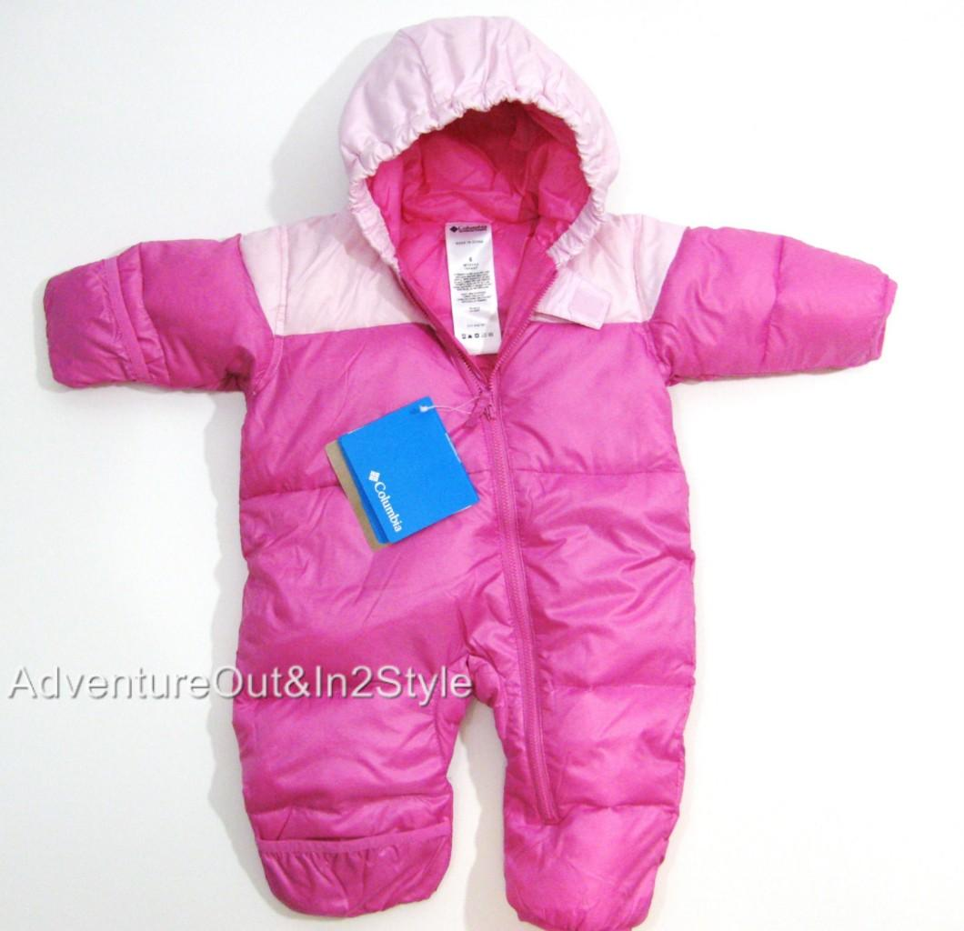 Columbia Baby Infant Snowsuit Bunting 6 Months 12 Months