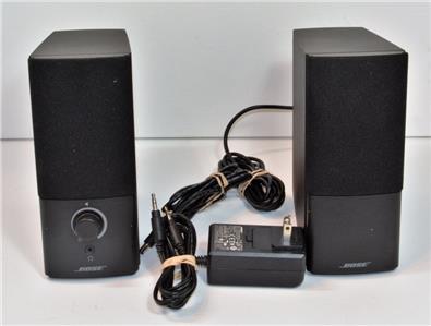 BOSE COMPANION 2 SERIES III BLACK COMPUTER SPEAKER SYSTEM NEW VERSION 3