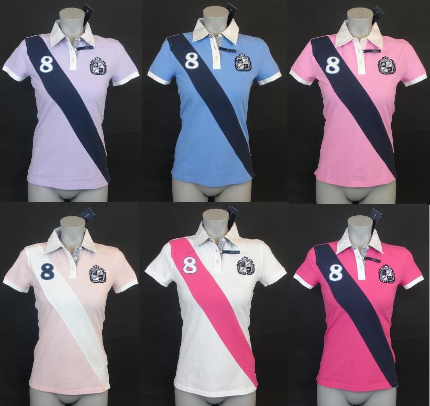19deed2b NEW NWT TOMMY HILFIGER WOMENS SLIM FIT RUGBY POLO SHIRT on PopScreen