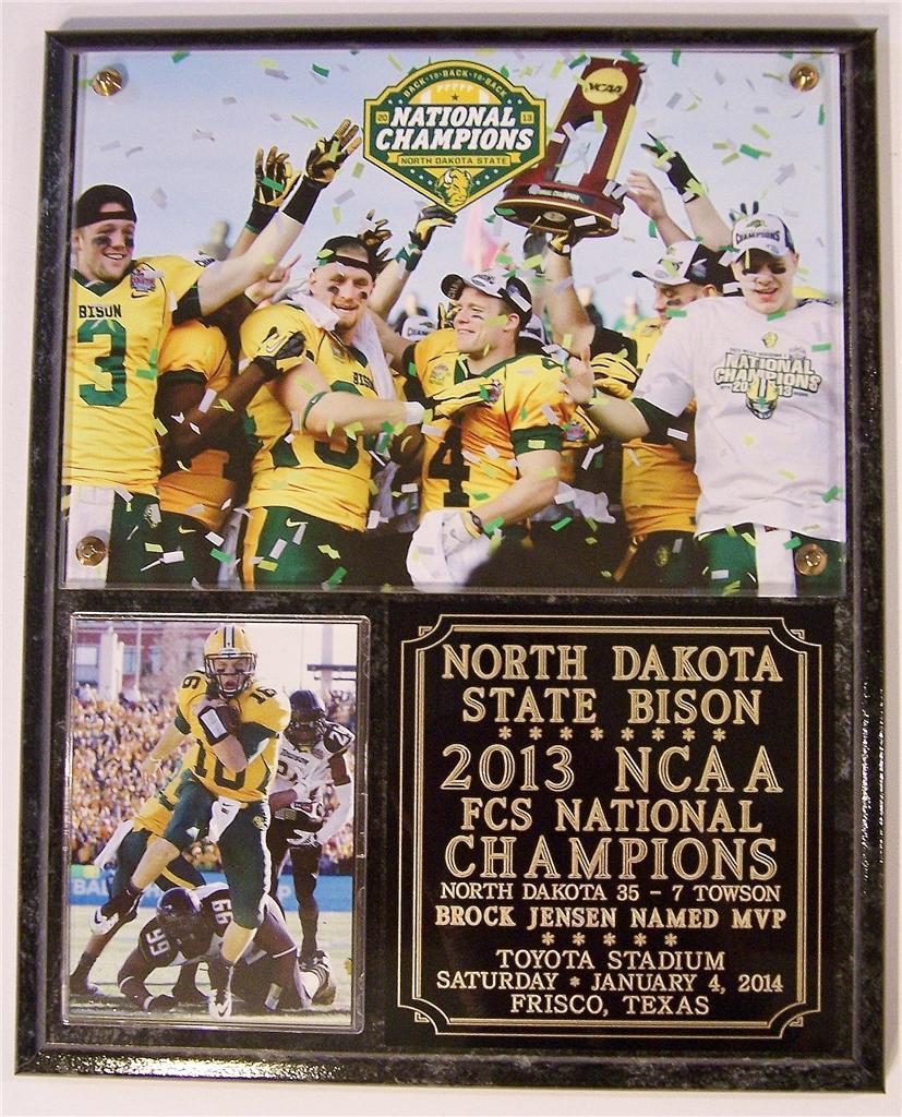 North Dakota State Bison 2013 FCS National Champions | eBay